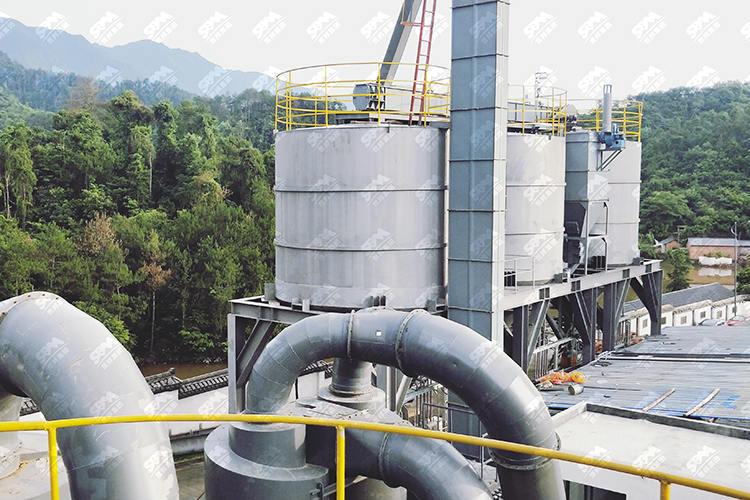 浙江时产20吨石灰石磨粉生产线